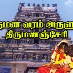 Tirumanancheri Temple timings marriage pooja details