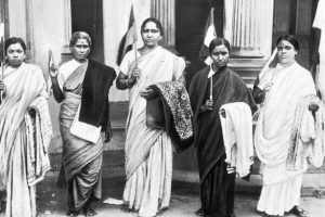 Women Role In India's Freedom Of Struggle