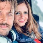 Hrithik's Shout-Out to Sussanne For Her New Project