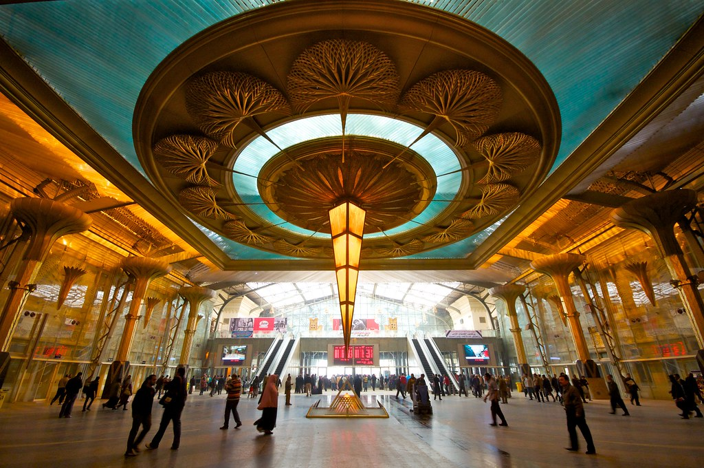 Ramses Station in Cairo
