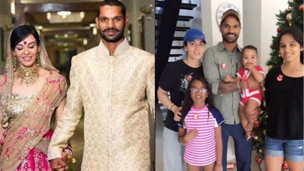 Shikhar Dhawan Parts Ways With His Wife Ayesha Mukherjee After 8 Years Of Marriage